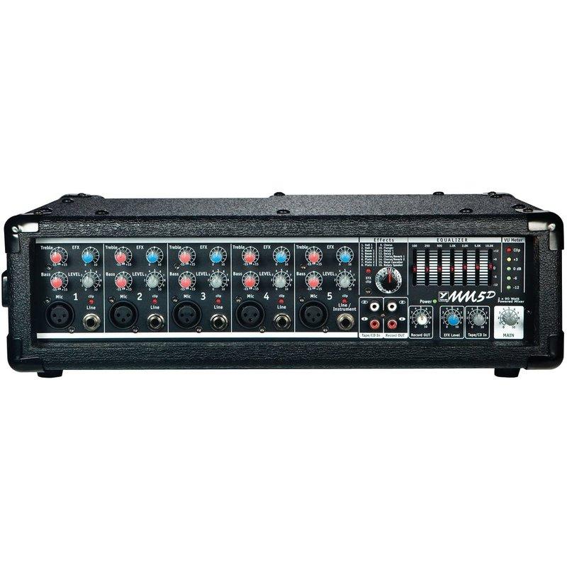 5 Channel 90 Watt X 2 Mixer