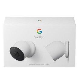 Google Nest Cam Indoor or Outdoor w/ Battery 2-Pack