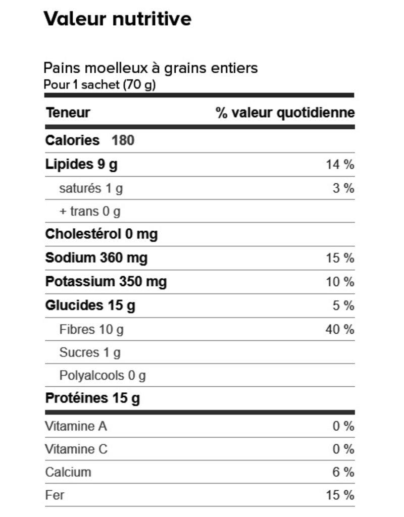 Proti-Snax Boite (1 x 7) PAIN TRANCHÉ PAIN PROTÉINÉ