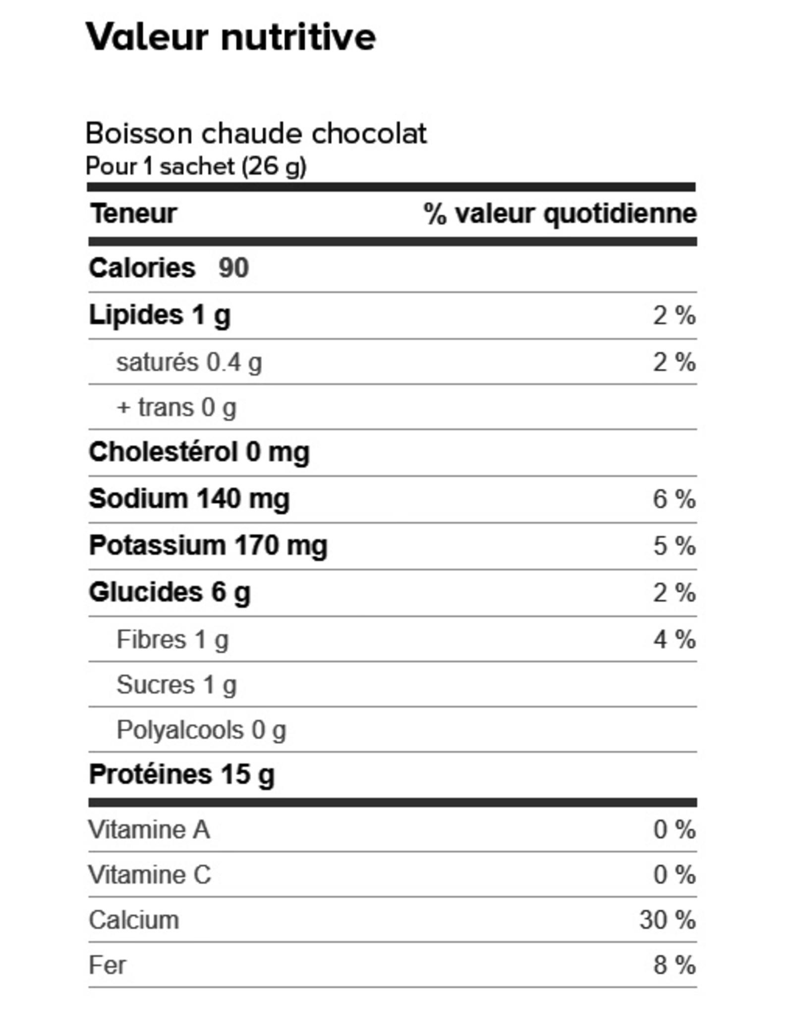 Proti-15 Boite (1 x 7) BOISSON CHAUDE CHOCOLAT CHAUD