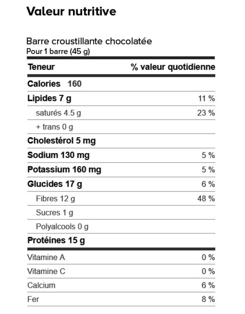 Proti-Bar Box (1 x 7) CHOCOLATE CRISP PROTEIN BARS
