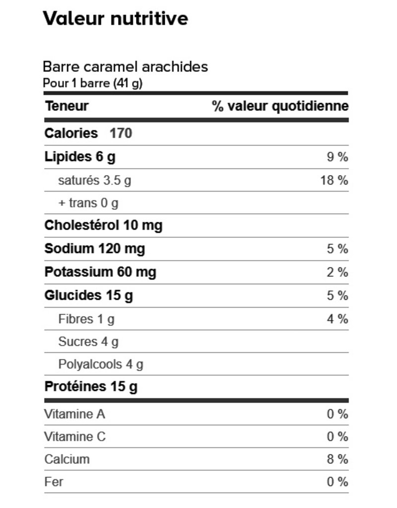 Proti-Bar Box (1 x 7) CARAMEL NUT PROTEIN BARS