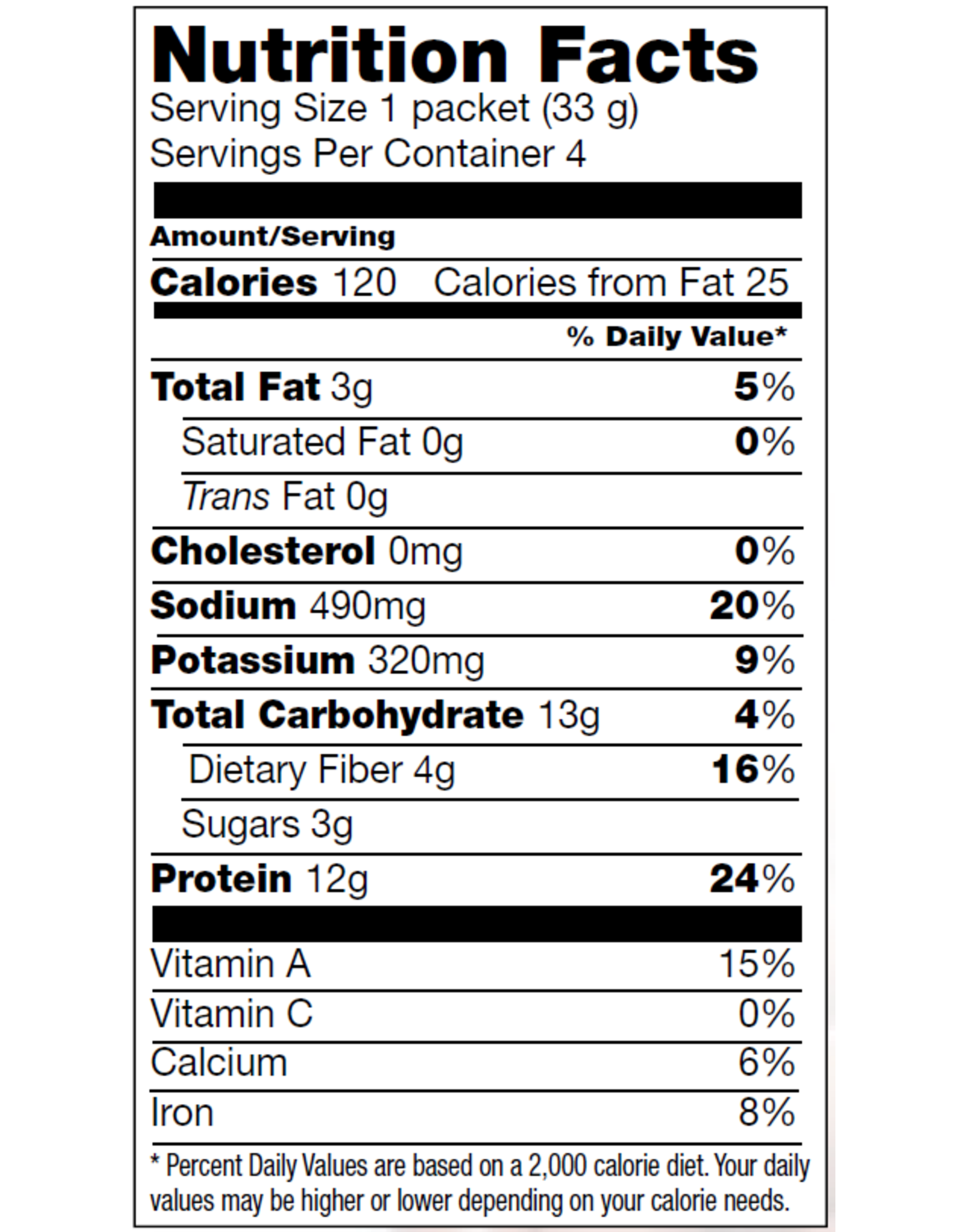 Proti-Meal Box (1 x 4) VEGETABLES CHILI MEAL MIX