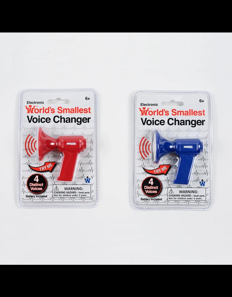 Le plus petit modificateur de voix du monde