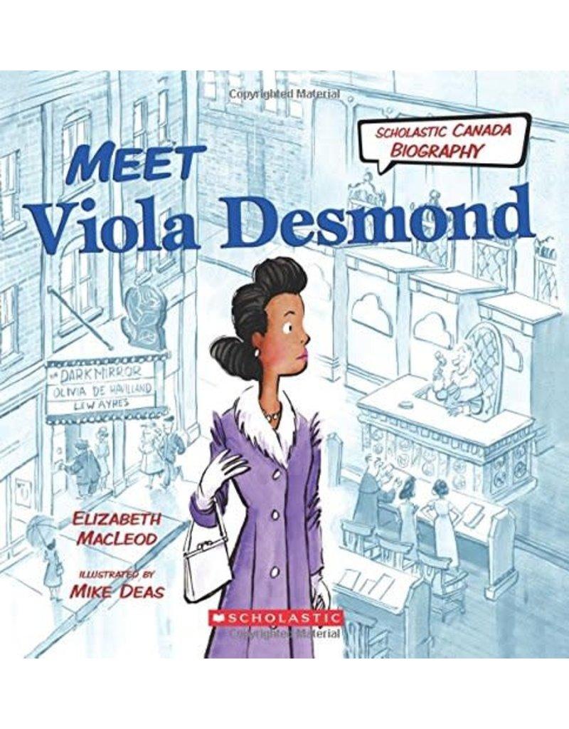 """Livre """"Meet Viola Desmond"""""""