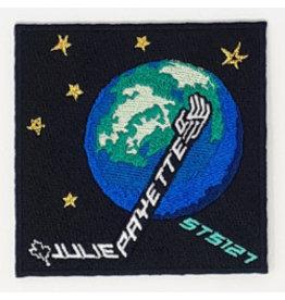 Écusson brodé Julie Payette STS 127