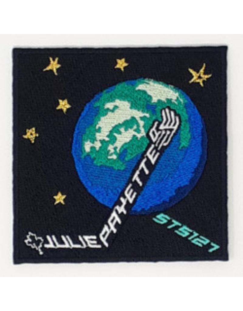 Crest  STS-127 Julie Payette