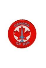 Écusson brodé du CF-104 Starfighter