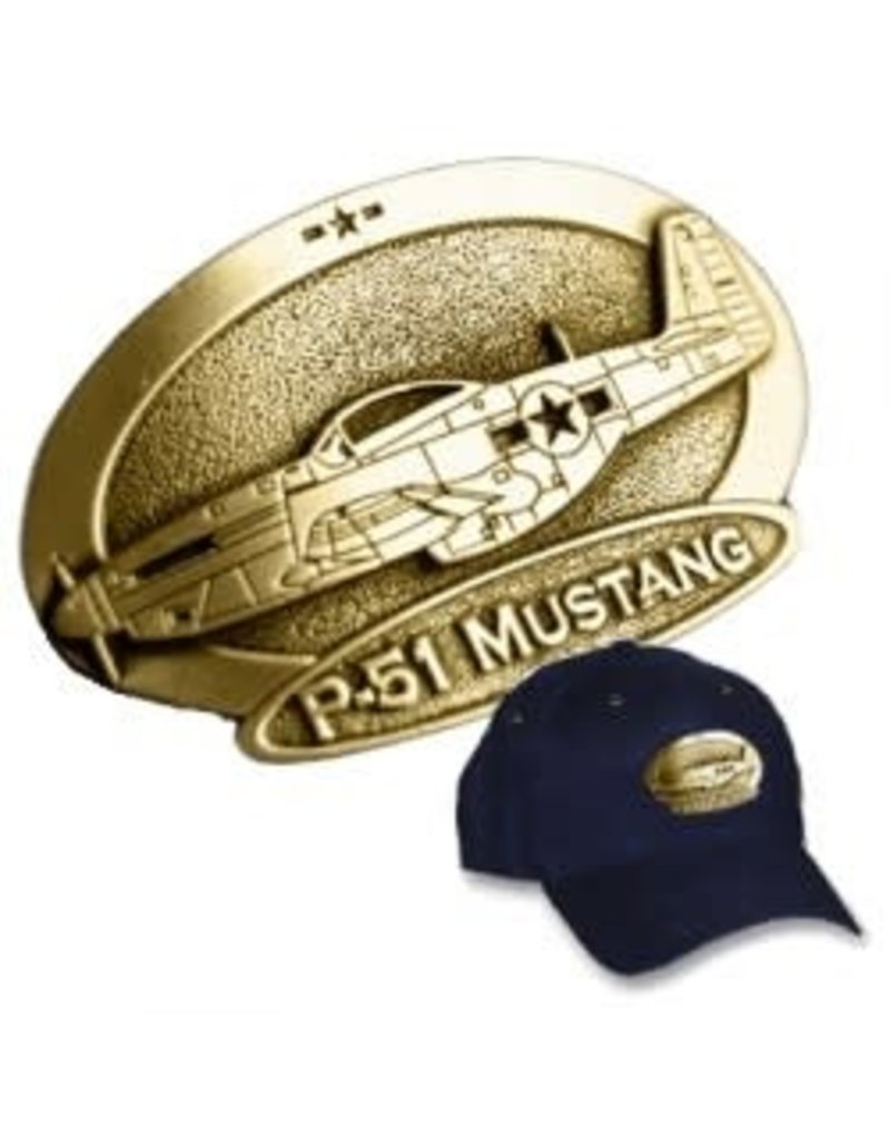 Cap Brass P-51 Mustang