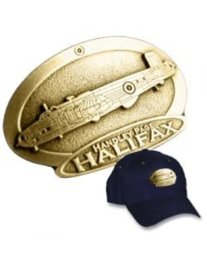 Casquette avec logo en cuivre du Handley Page Halifax