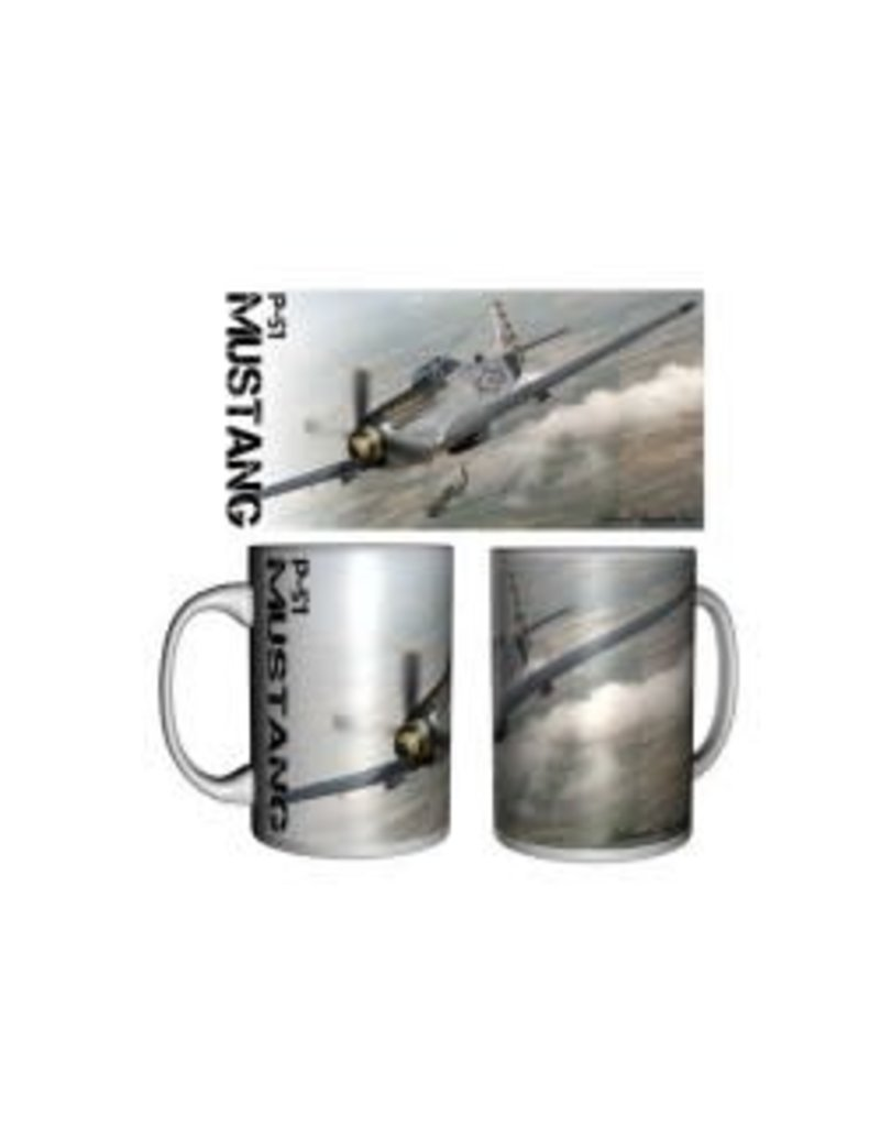 Tasse céramique du North American P-51 Mustang