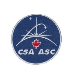 "CSA/ASC Crest 3"" embroidered"