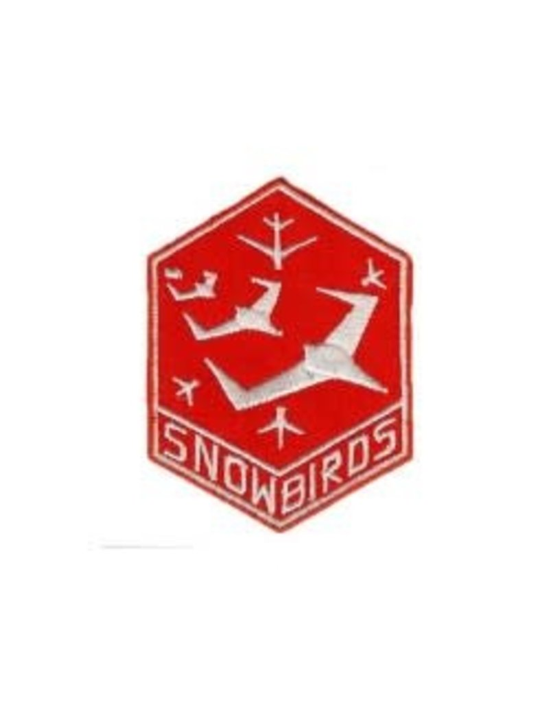 "Snowbirds Crest 3"" iron-on"