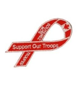 Crest Support Our Troops
