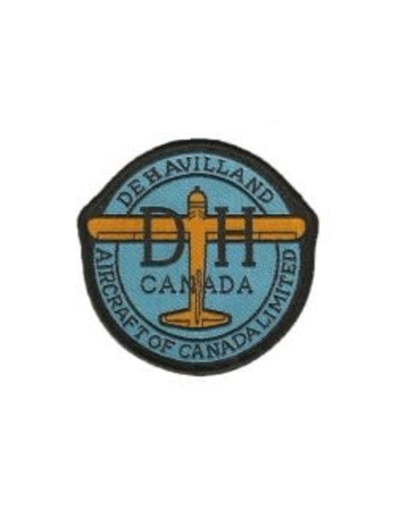 Crest Dehavilland Aircraft Round Logo