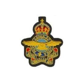 Écusson brodé Couronne du Roi 'RCAF'