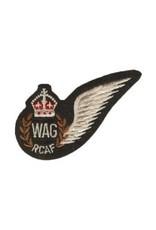 Écusson brodé Aile 'RCAF Wireless Air Gunner'