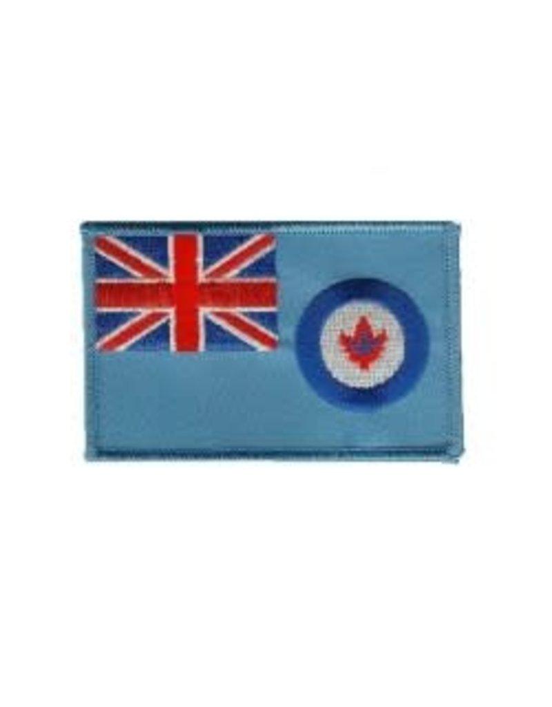 Écusson brodé du drapeau de l'Aviation royale du Canada