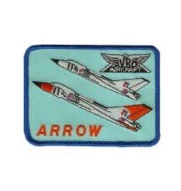 Écusson brodé du CF-105 Arrow d'Avro