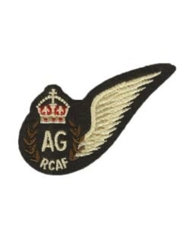 Écusson Aile 'RCAF Air Gunner'