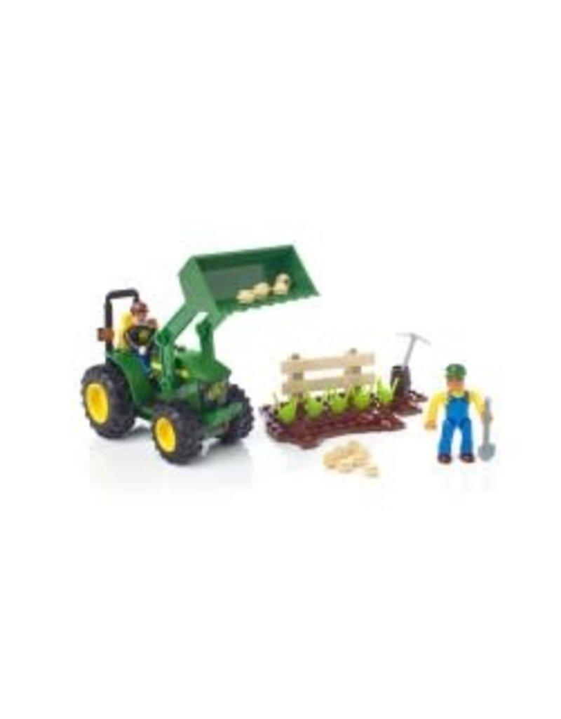 Mega Blocks John Deere Farm Tractor
