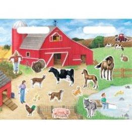 Tableau magnetique des personnages de la ferme