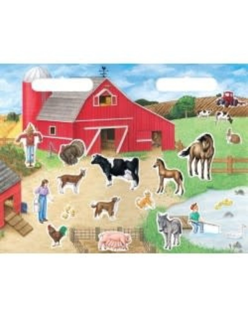Magnetic Farm Playsets