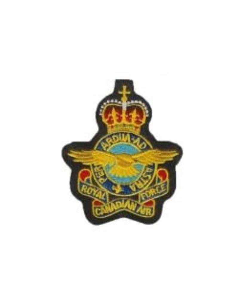Crest RCAF Queens Crown