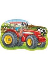 Casse-tête de plancher - Gros tracteur
