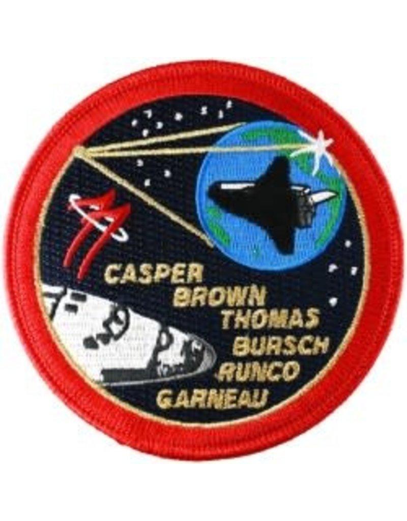 Écusson brodé Mission STS-77 – Marc Garneau