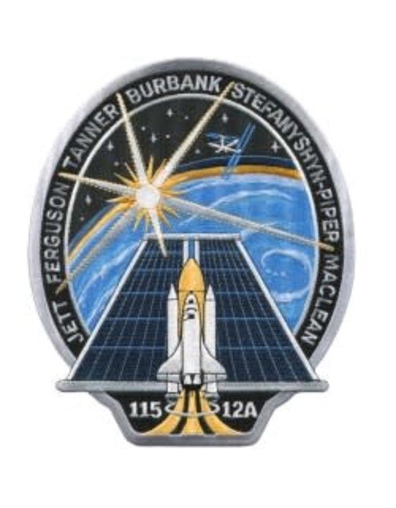 Écusson brodé de la mission STS-115 – Steve MacLean
