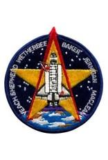 Écusson brodé de la mission STS-52 – Steve MacLean