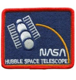 Écusson brodé 'NASA Hubble Space Telescope'