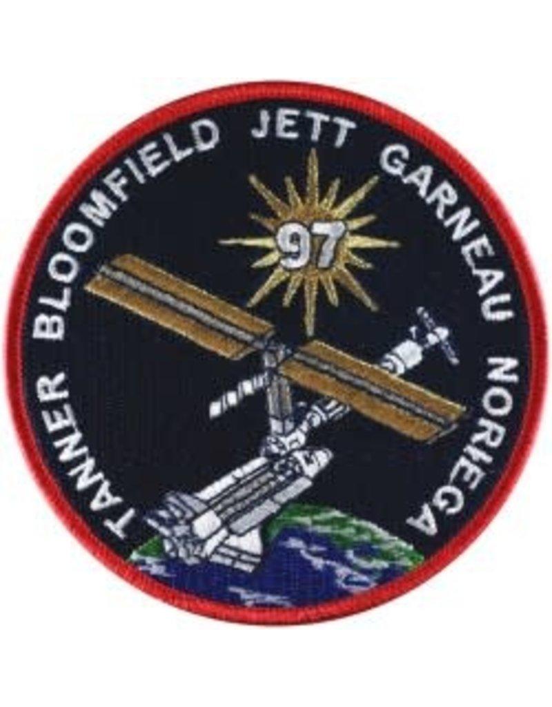 Écusson brodé de la mission STS-97 – Marc Garneau