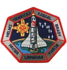 Écusson brodé Mission STS-78 – Bob Thirsk