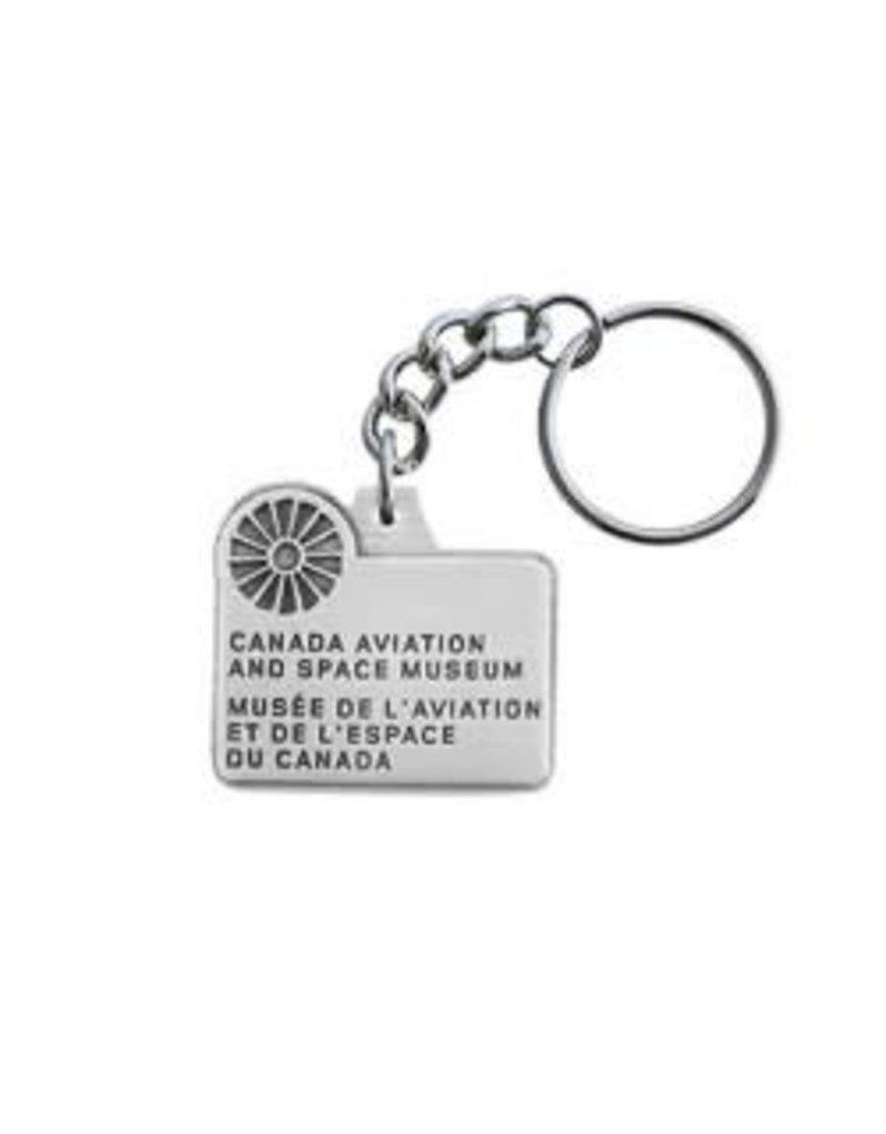 Porte-clés du Musée de l'aviation et de l'espace du Canada