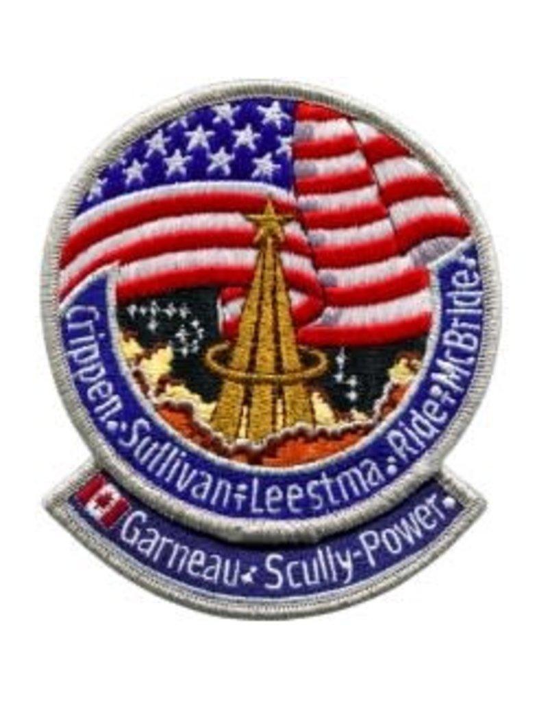 Écusson de la mission STS-41-G – Marc Garneau