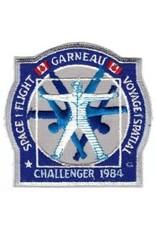 Écusson de la mission STS-41-G Marc Garneau