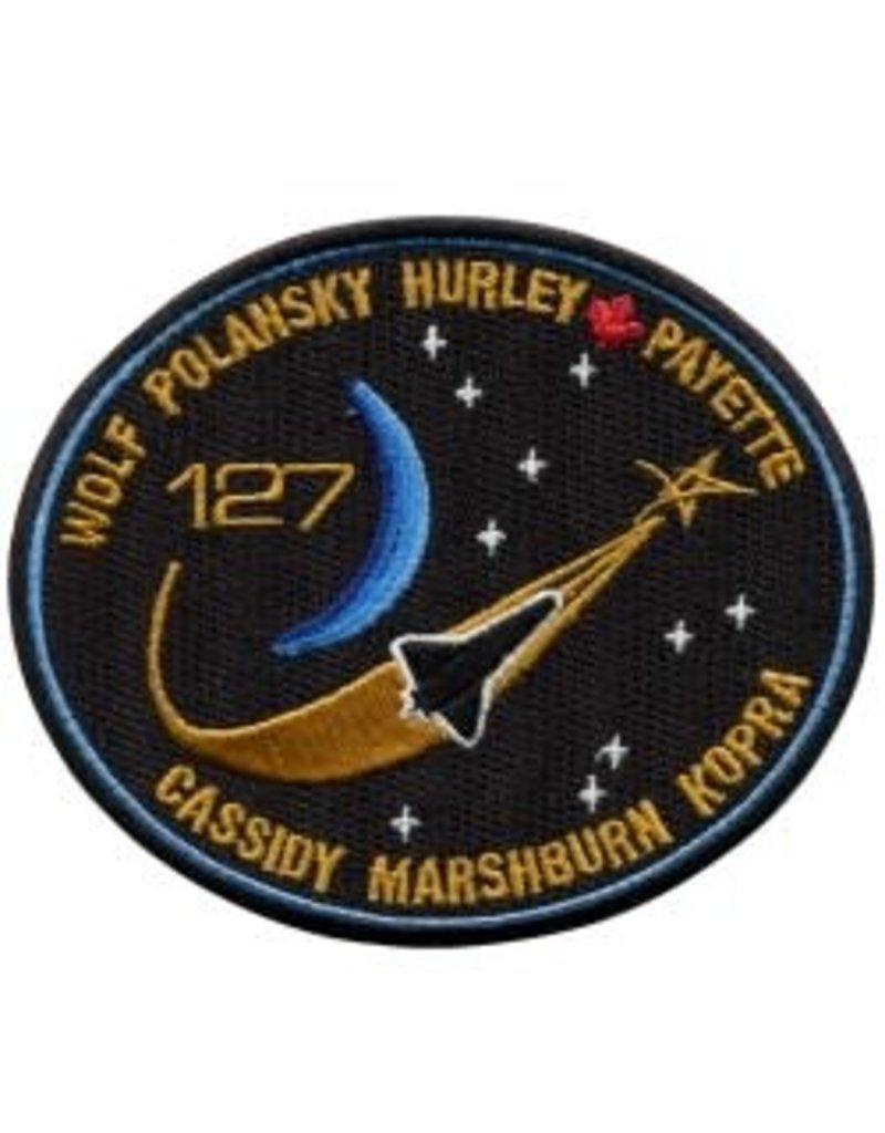 Écusson de la mission STS-127 – Julie Payette