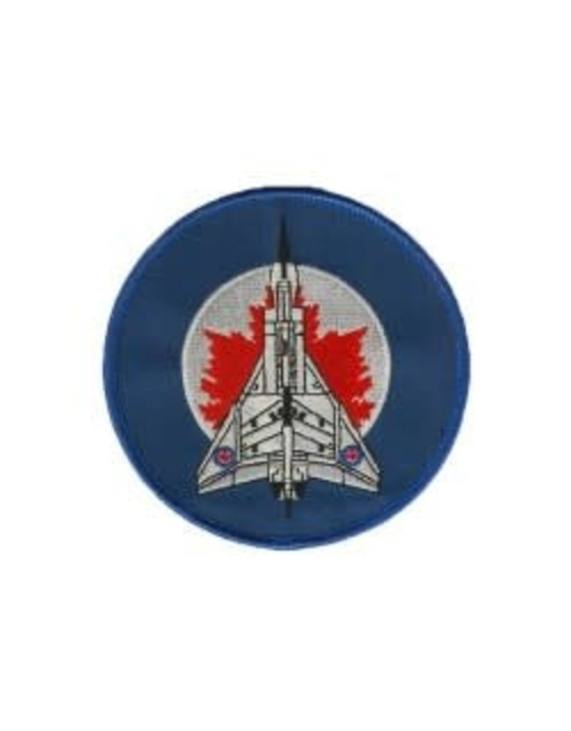 Crest Avro Arrow on RCAF Round