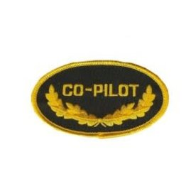 Crest Co-pilot, Oval Shaped