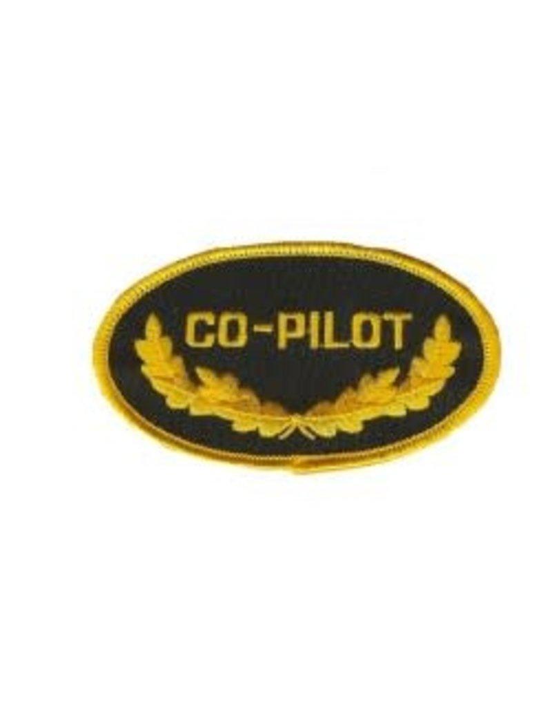 Écusson brodé 'CO-PILOT'