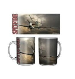 Tasse céramique du Supermarine Spitfire