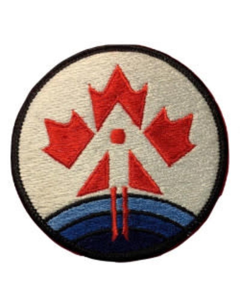 Écusson brodé du bureau du Programme des astronautes canadiens