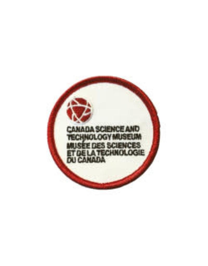 Écusson brodé du Musée des sciences et de la technologie du Canada