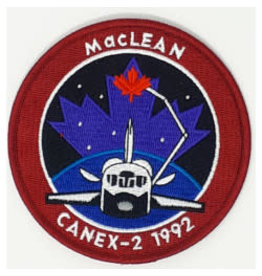 Crest STS-52 Steve MacLean