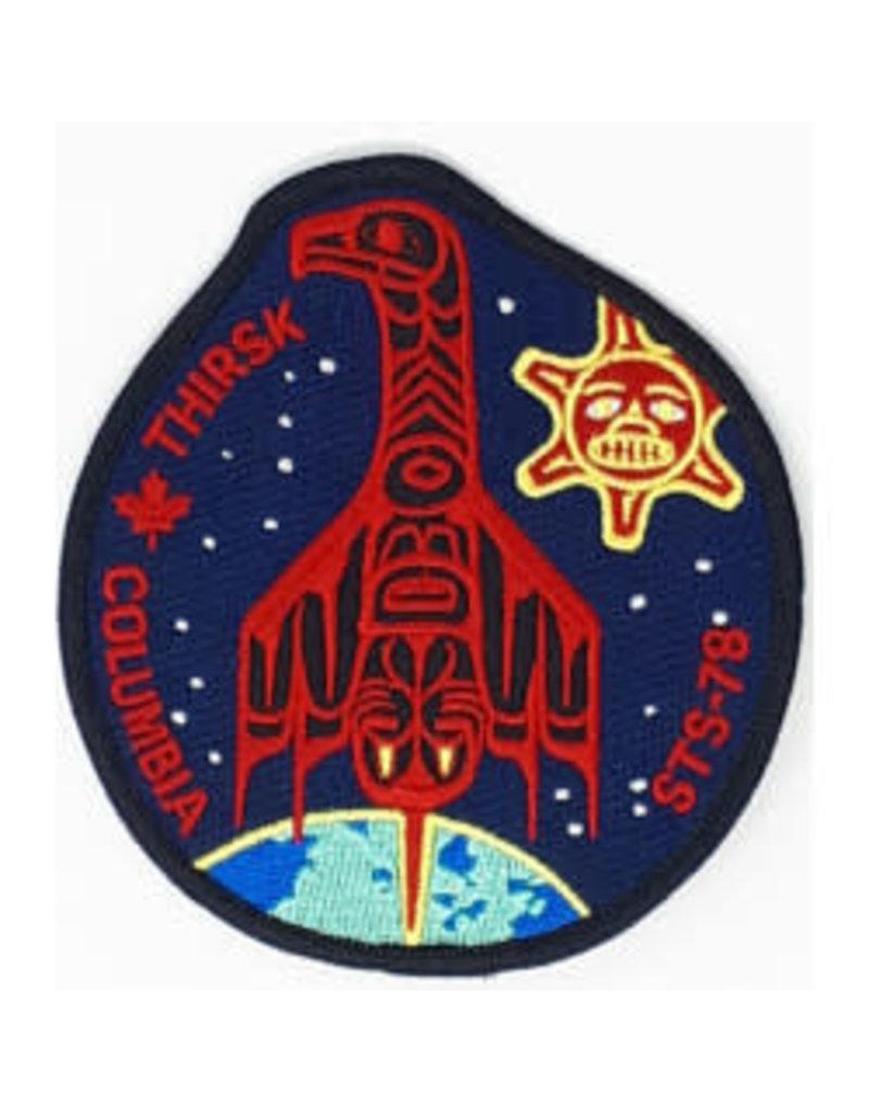 Écusson brodé STS-78 Robert Thirsk