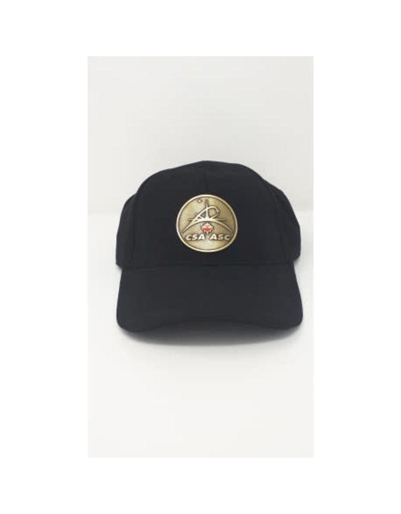 Casquette avec logo en cuivre ASC