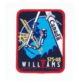Écusson brodé STS-118 Dave Williams