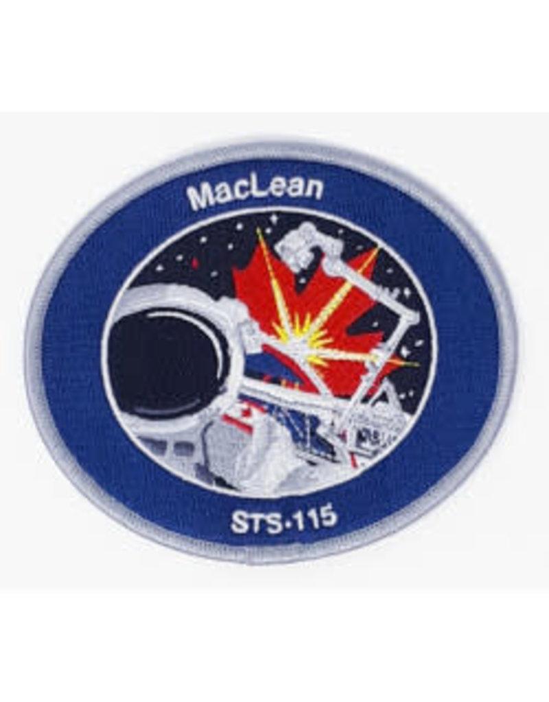 Écusson brodé STS-115 Steve MacLean